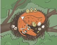 Children's illustration - Selected works 2019/2020