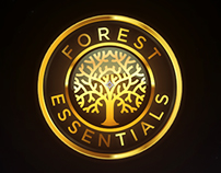 Forest Essentials Logo Animation