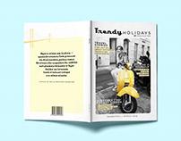 Magazine Cover | Trendy Holidays