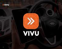 Thiết kế logo Ứng dụng Vivu