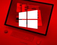 Microsoft Windows portfolio site/ styleguide