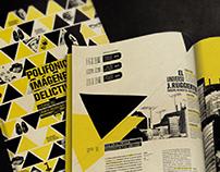 Polifónicas Imágenes Delictivas | Diseño Editorial