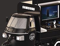 Ape truck - Samsung