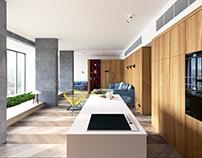 Interior Rendering - Apartamento