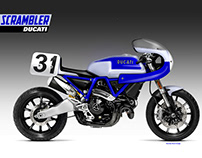 SCRAMBLER DUCATI 1100 LEGENDS SERIES C. NEILSON
