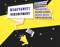 Kraftovity Recruitment....