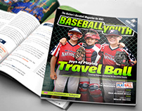 Baseball Youth Magazine Layout & Design