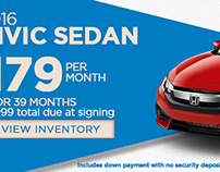 Honda of Bemidji Lease Specials
