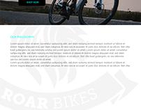 Roar Bikes ui design