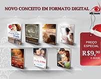 Campanhas para divulgação em mídias digitais.