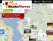 shake varese // corporate&web design // special project