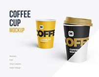 Coffee Cup mockup 4 PSD