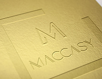 Maccasy Logo - by Slide-Up - Copyright Julie Enez