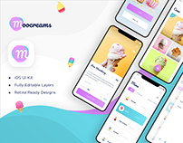 Moocream App UI Kit
