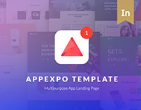 Multipurpose App Landing Page Showcase | AppExpo