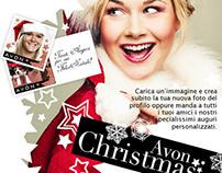 avon xmas // facebook app