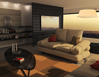 Photorealistic Living Room