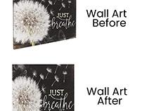 Wall Art Image Editing