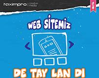 WEB SİTEMİZ DE TAY LAN DI !