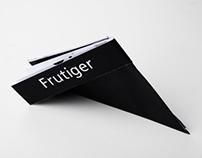 Frutiger Type Specimen