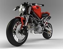 Ducati monster Redesign