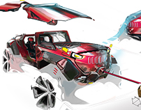 Jeep + Active Aero. system