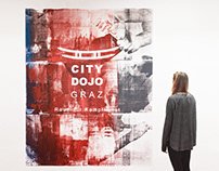 Mural for City Dojo Graz