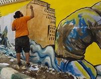 El-mansura graffiti