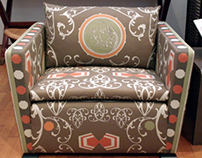 Textil design for furniture
