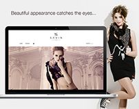 Savin Paris - eCommerce website