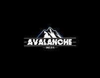 Avalanche • Rock Band Logotype