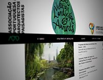 Landscape Architects Website ft. P-06 Atelier