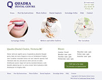 Quadra Dental Centre Website
