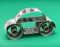 Ilustracion 3D VW