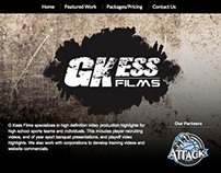 GKess Films Website