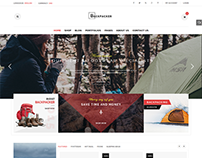 Backpacker - Awesome Design for WooCommerce Store