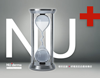 「NU+ derma」網頁互動設計