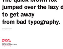 Typography Exhibition Posters