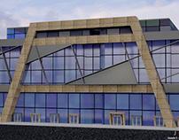designing Mall facade