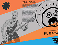 Flyer - Flea Bass