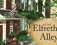 Visit Philadelphia: Elfreth's Alley