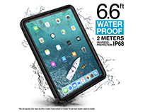 "Catalyst Waterproof cases for iPad Pro 11"" and 12.9"""