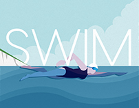 Swim illustration