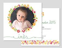 inès / birth announcement