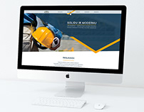 """""""REVESTUS"""" internetinio puslapio dizainas"""