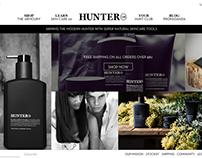 Men's Skin Care - eCommerce Website
