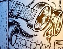 T-shirt / JP-Performance / Skulls
