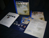 Die-cut Folder; tri-fold brochure and pamphlet