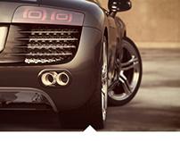 Audi R8 // Visualization