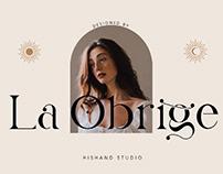 FREE | La Obrige - Elegant Serif Font